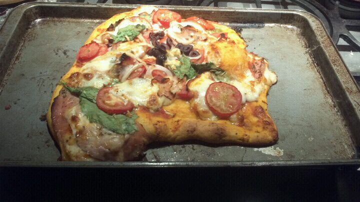 deformed pizza