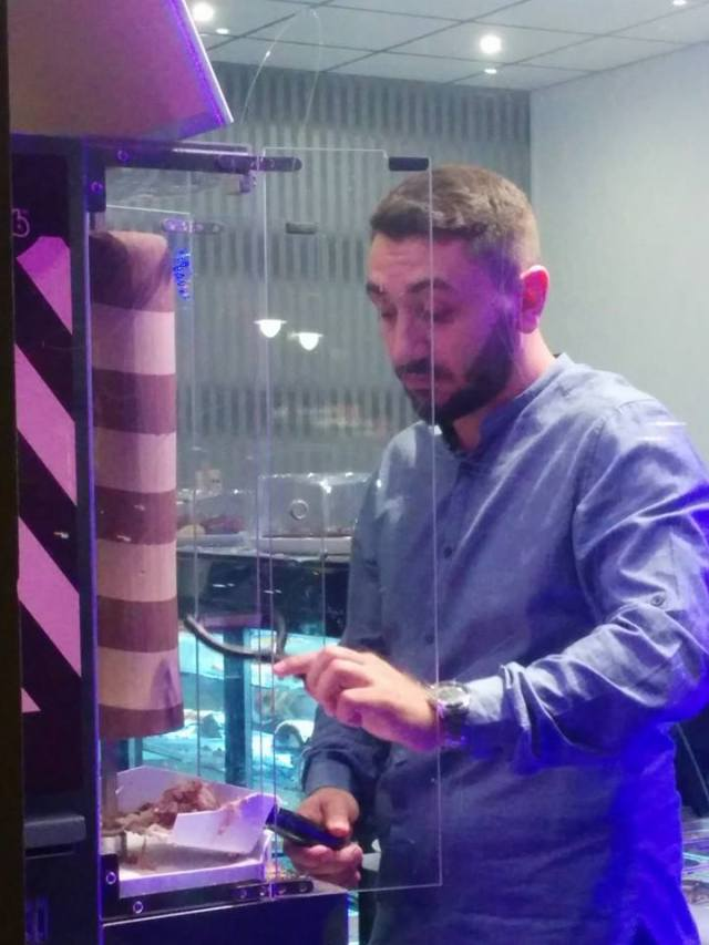 Chocolate doner kebab