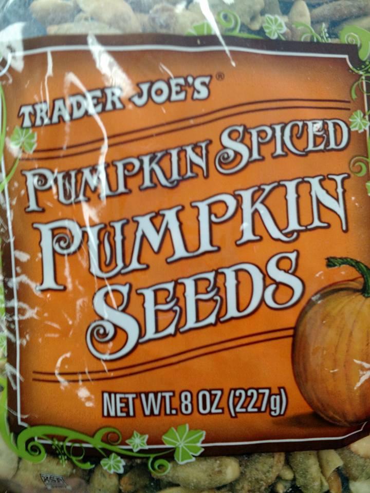 Pumpkin Spiced PumpkinSeeds