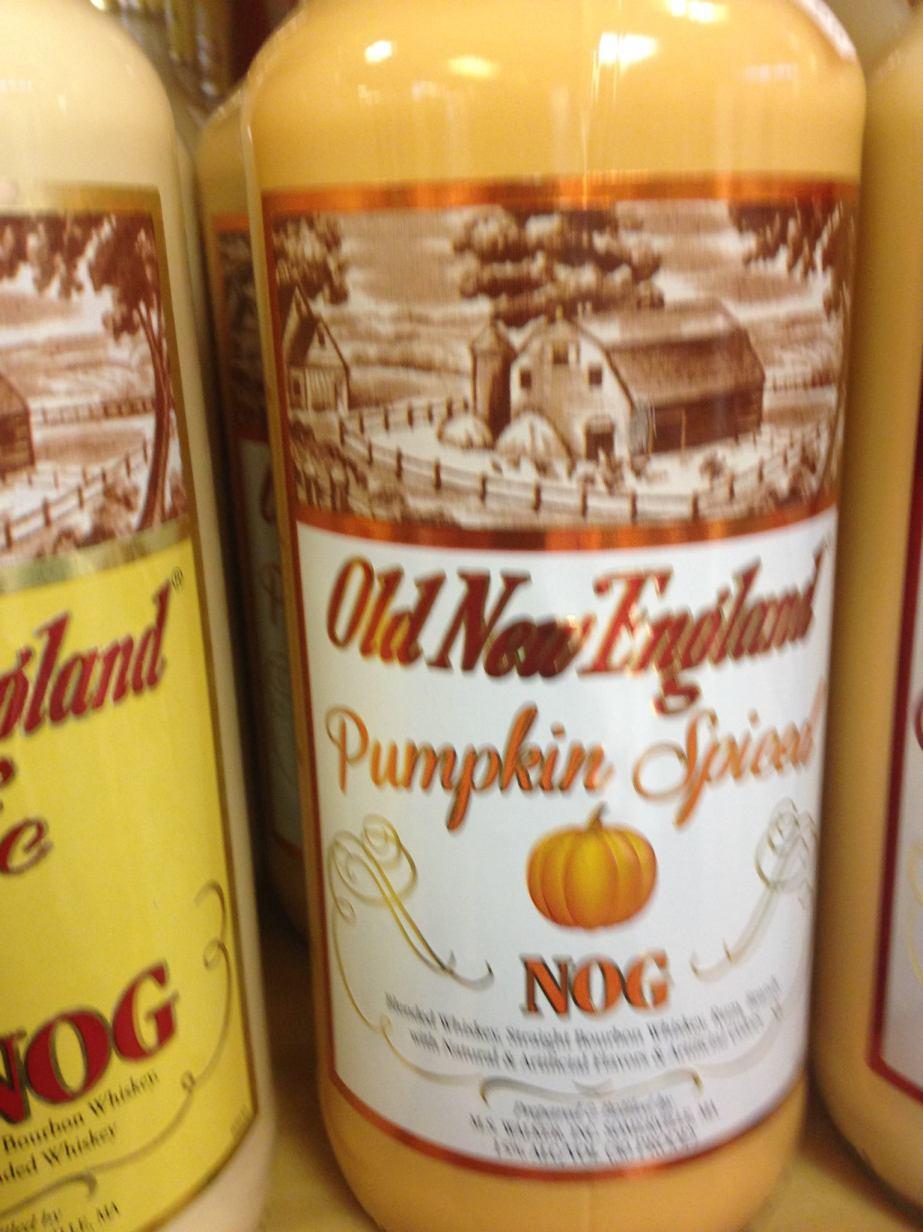 Pumpkin Spiced Nog