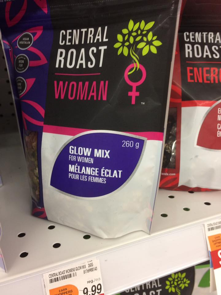 Energy mix for Women